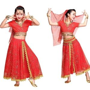 Girls Belly Dance Costume